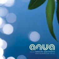 aqua.lakeside apartments - varcon construction