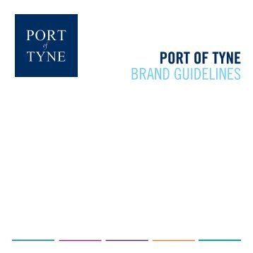 POT brand guidelines artwork v4 - Port of Tyne