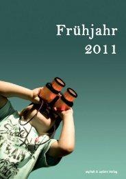 aktuellen Vorschau - asphalt & anders Verlag