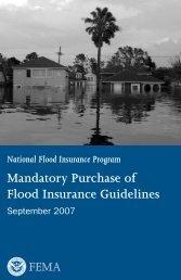 Mandatory Purchase of Flood Insurance Guidelines - Hazard ...
