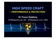 High Speed Craft, Performance & Protection