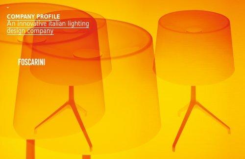 Company Profile - Foscarini