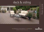 deck & siding - National Lumber