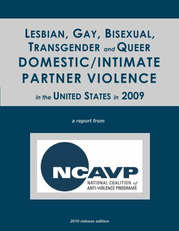 domestic/intimate partner violence - New York City Gay and Lesbian ...