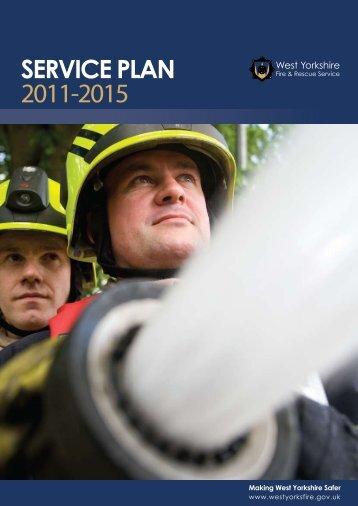 Service Plan 2011-2015 - West Yorkshire Fire Service