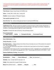 Western Ontario Rotator Cuff Index (WORC)