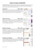 Preisliste 2008/2009 - Page 2