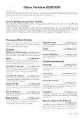 Preisliste 2008/2009 - Page 5