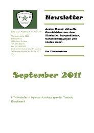 Newsletter - Tierheim Arche Noah