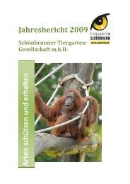 Jahresbericht 2009 - Tiergarten Schönbrunn