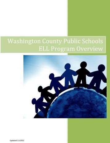 ELL Handbook - Washington County, MD Public Schools