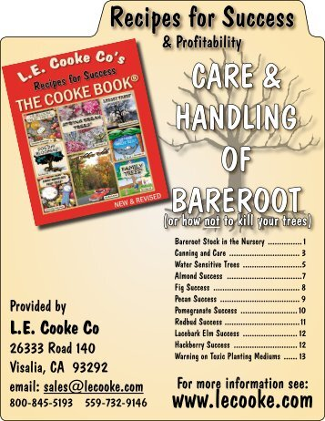 Complete Care And Canning Booklet L E Cooke Co