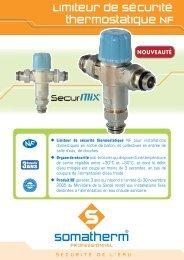 Limiteur de Sécurité thermostatique NF - Somatherm