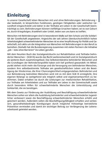 Ratgeber für behinderte Menschen - Aktion Benni und Co e.v.