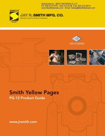 Smith Roof Drain Catalog U0026 List Pricing   Best Materials