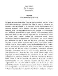 Dante Alighieri Ãœber die Monarchie. (De monarchia.) Erstes Buch ...