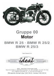 BMW R 25 · BMW R 25/2 BMW R 25/3