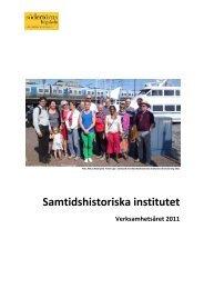Samtidshistoriska institutet - Södertörns högskola