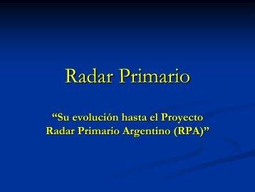 Radar Primario
