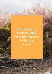 PhotoIreland Festival 2013 catalogue
