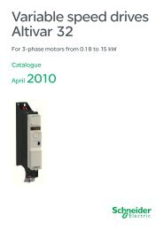 Variable speed drives Altivar 32 - Nabla Slavonija