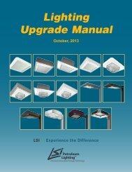 Lighting Upgrade Manual - LSI Industries Inc.