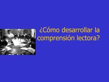 Quinta Sesión Comprension Lectora - LEM