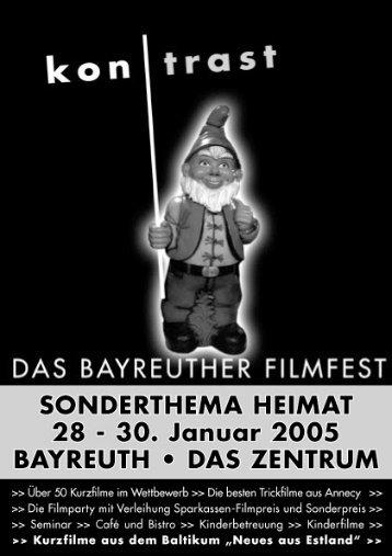 vorspann ›› vorwort ›› - Das Bayreuther Filmfest