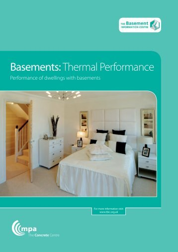 Thermal performance of dwellings with basements