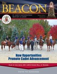 The Beacon Winter 2013, Volume 32, No. 1 - St. John's ...