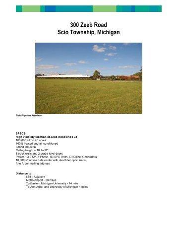 300 Zeeb Road, Scio Township, MI - Ann Arbor SPARK