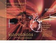 Volume 1 How Do You Mend a Broken Heart? - Memorial Hermann