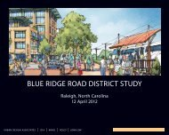 Urban Design Assocation Presentation April 12 - City of Raleigh