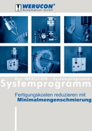 Systemprogramm - Werucon Automatisierungstechnik GmbH