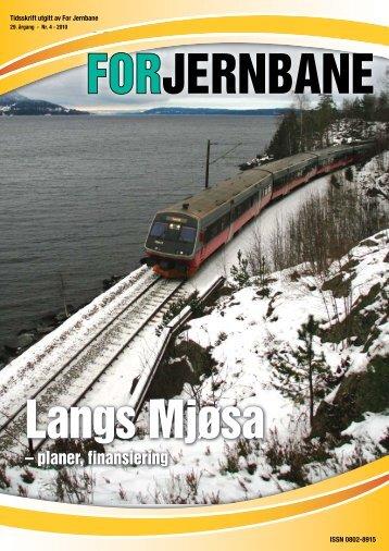 – planer, finansiering - For Jernbane