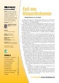 – planer, finansiering - For Jernbane - Page 2