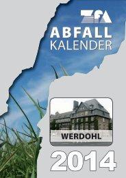 Abfallkalender - ZfA Iserlohn