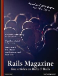 Rails Magazine - Issue 2