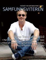 Samfunnsviteren nr. 3-2010 - Samfunnsviterne