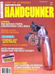 American Handgunner May/June 1983
