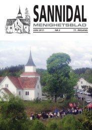 MENIGHETSBLAD - Sannidal Kirke