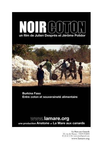 Noir Coton - Rhone Solidaires