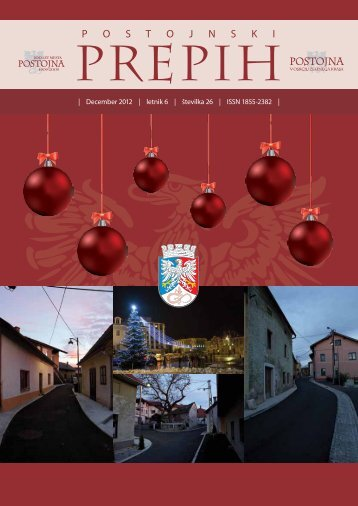 December 2012 - Občina Postojna