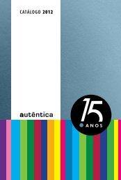 CATá LO G O 2012 - Grupo Autêntica