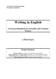Writing In English A Practical Handbook for Scientific and Technical ...