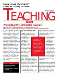Nov/Dec (Vol 12, No 2) - Center for Excellence in Learning and ...