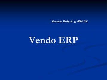 Vendo ERP