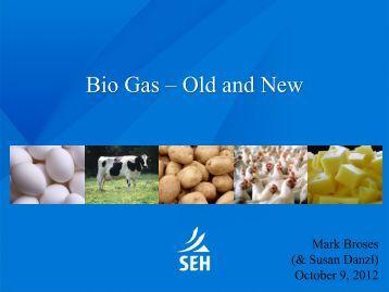 Capturing Energy from Anaerobic Digestion - International BIO ...