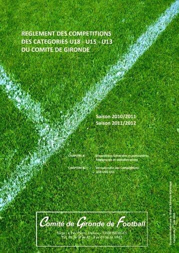 Comité de Gironde de Football - Footeo