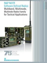 ¸M3TR Software Defined Radios Multiband, Multimode, Multirole ...
